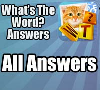 what's the word answers iphone all answers