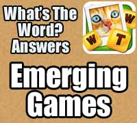 whats the word answers emerging games