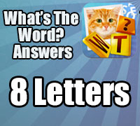 what's the word answers iphone 8 letters