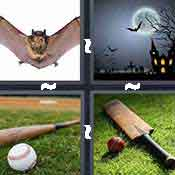 4 pics 1 word answer cheat Bat