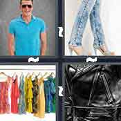 4 pics 1 word answer cheat Clothes
