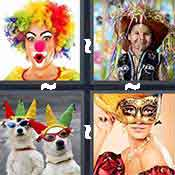 4 pics 1 word answer cheat Costume