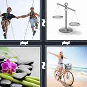 4 pics 1 word answer cheat Balance