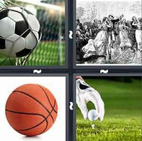 4 Pics 1 Word Ball
