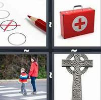 4 Pics 1 Word Cross