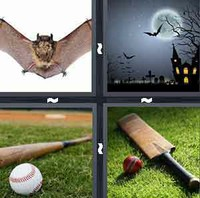 4 Pics 1 Word Levels Bat