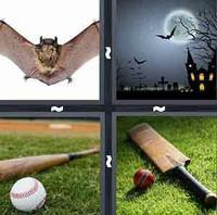 4 Pics 1 Word Bat