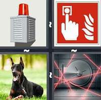 4 Pics 1 Word Alarm