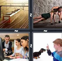 4 Pics 1 Word Train