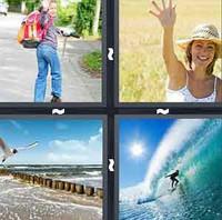 4 Pics 1 Word Levels Wave