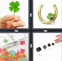 4 Pics 1 Word Luck