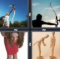 4 Pics 1 Word Bow