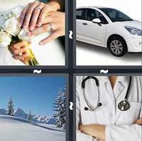 4 Pics 1 Word White