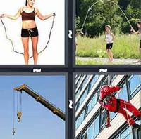 4 Pics 1 Word Rope