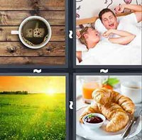 4 Pics 1 Word Morning