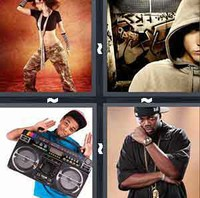 4 Pics 1 Word Hiphop