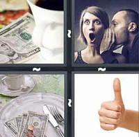 4 Pics 1 Word Tip