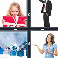 4 Pics 1 Word Present