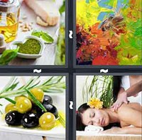 4 Pics 1 Word Oil