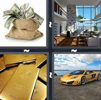 4 Pics 1 Word Levels Rich