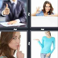 4 Pics 1 Word Levels Gesture