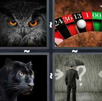 4 Pics 1 Word Levels Black
