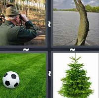 4 Pics 1 Word Green