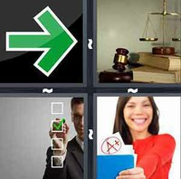 4 Pics 1 Word Right