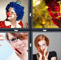 4 Pics 1 Word Red