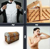 4 Pics 1 Word Chest