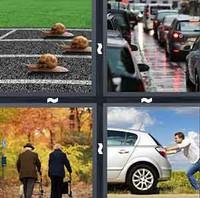 4 Pics 1 Word Slow