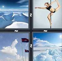 4 Pics 1 Word Pole