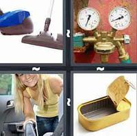 4 Pics 1 Word Vacuum
