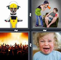 4 Pics 1 Word Loud