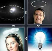 4 Pics 1 Word Halo