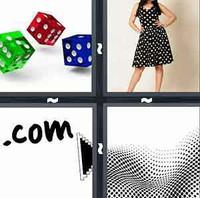 4 Pics 1 Word Dot