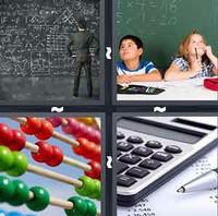 4 Pics 1 Word Math