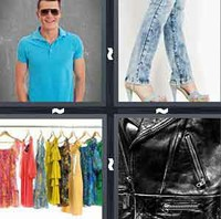 4 Pics 1 Word Clothes