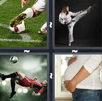 4 Pics 1 Word Kick