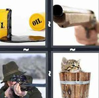 4 Pics 1 Word Barrel
