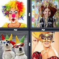 4 Pics 1 Word Costume