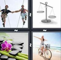 4 Pics 1 Word Levels Balance