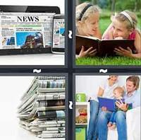 4 Pics 1 Word Read