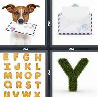 4 Pics 1 Word Letter