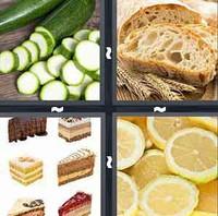 4 Pics 1 Word Slice