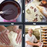 4 Pics 1 Word Levels Bake