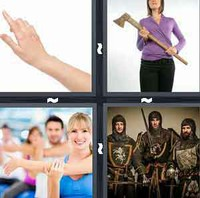 4 Pics 1 Word Arm