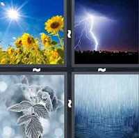 4 Pics 1 Word Weather