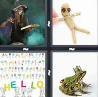 4 Pics 1 Word Spell
