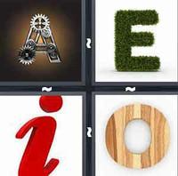 4 Pics 1 Word Vowels